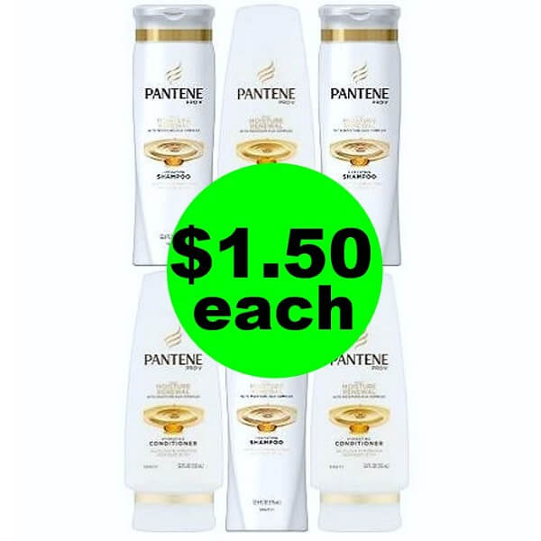 CVS Deal: 👩‍🏫 $1.50 Pantene Hair Care (Save 69% Off)! (5/26-6/1)