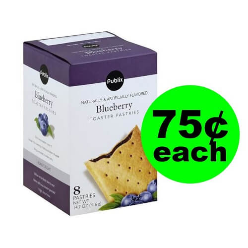 Publix Deal: 🥛 75¢ Publix Toaster Pastries!