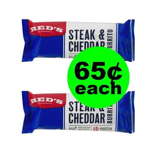 Publix Deal: 🌯 65¢ Red's Burritos! (1/2-1/8 or 1/3-1/9)