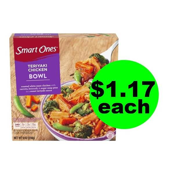 Publix Deal: $1.17 Smart Ones Bowls (After Ibotta)! (Ends 6/25 Or 6/26)