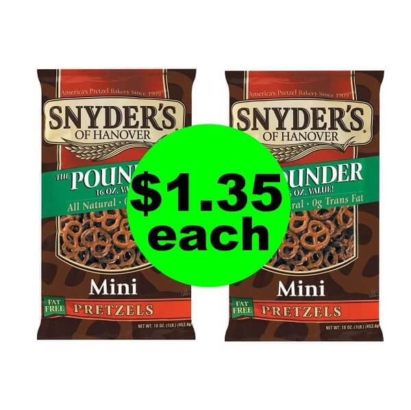 Publix Deal: 🥨 $1.35 Snyder's Pretzels! (2/20-2/26 or 2/21-2/27)