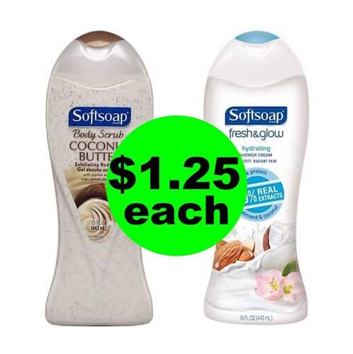 CVS Deal: 🚿 $1.25 Softsoap Body Wash! (3/3-3/9)