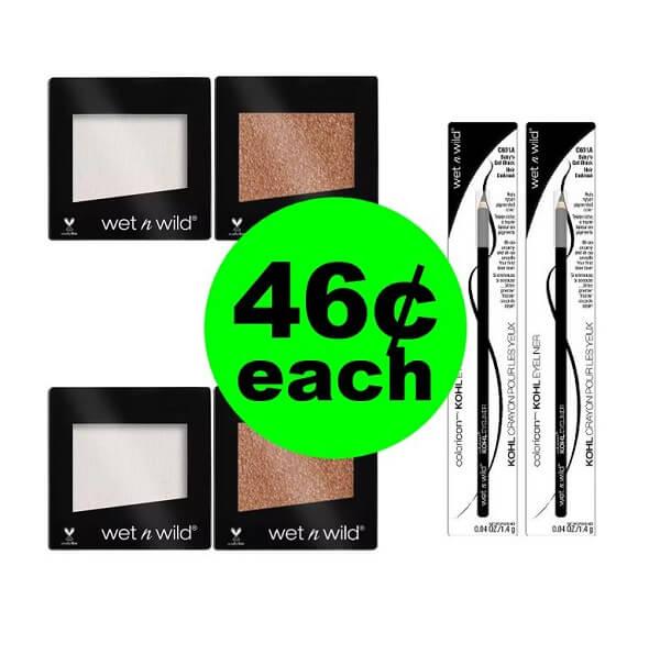 CVS Deal: 😃 Wet N Wild Cosmetics As Low As 46¢ Each! (3/17-3/23)