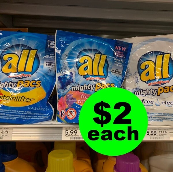 Publix Deal: 👖 Print For $2 All Detergent & Mighty Pacs! (Ends 2/19 or 2/20)