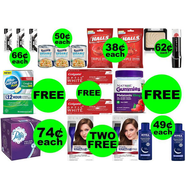 CVS Deals: Don't Miss 🤗 6 FREEbies Plus 7 Deals 74¢ Each Or Less! (Ends 2/16)