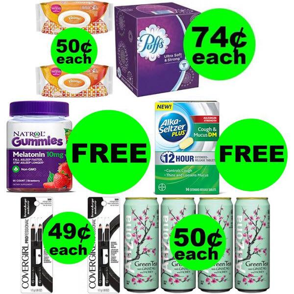 CVS Deals: 😄 2 FREEbies Plus 4 Deals $.74 Or Less At CVS! (Ends 2/23)