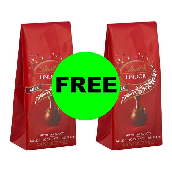 (NLA) Publix Deal: ❤️ Print For 2 FREE Lindt Truffle Mini Bags!