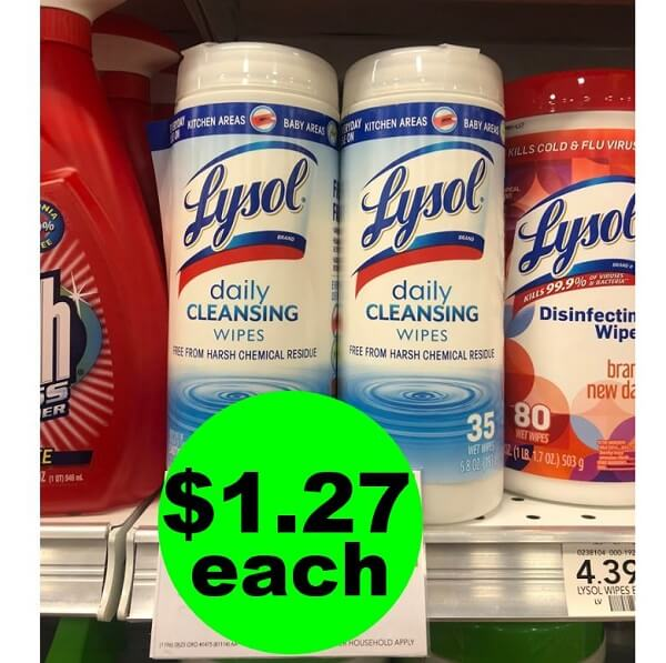 Publix Deal: $1.27 Lysol Disinfecting Wipes! (Ends 6/18 Or 6/19)