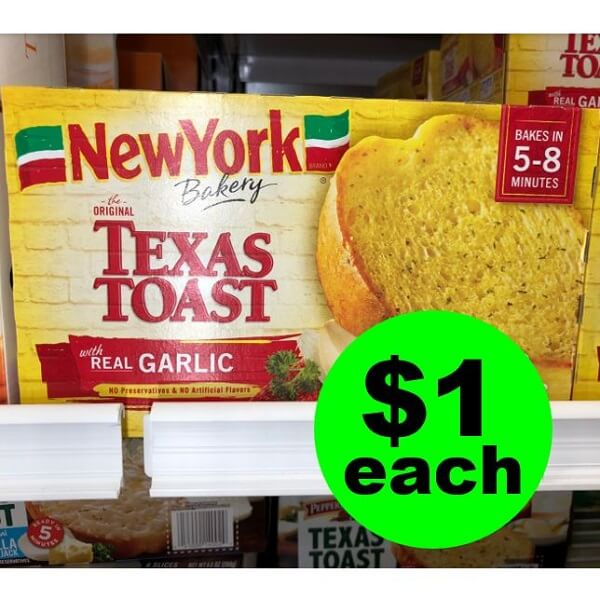 Publix Deal: 🥖 Print Now For New York Bakery Texas Toast As Low As $1 Each! (Ends 2/12 or 2/13)