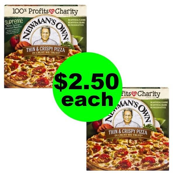 Publix Deal: 🍕 $2.50 Newman's Own Pizza! (Ends 2/19 or 2/20)