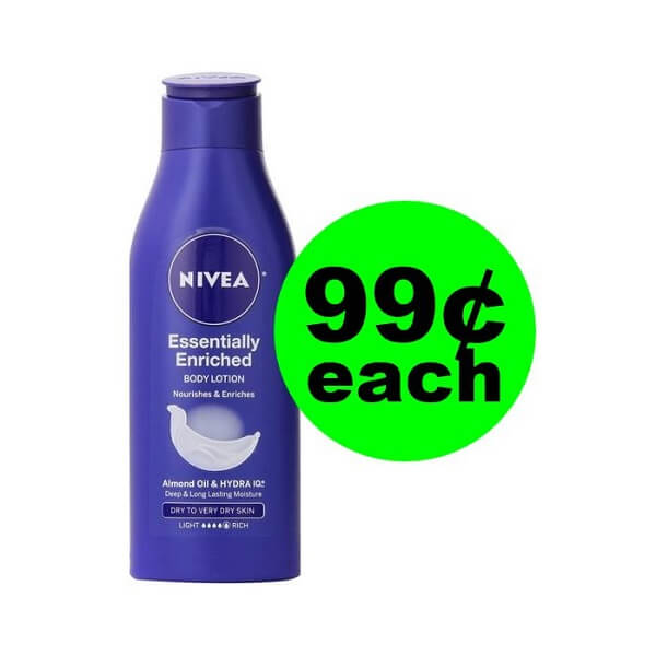 CVS Deal: 🙋‍♀️ 99¢ Nivea Lotion (Save 80% Off)! (5/26-6/1)
