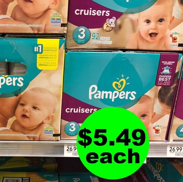 Publix Deal: 👶 $5.49 Pampers Box Diapers! (Saturday, 6/1 ONLY!)