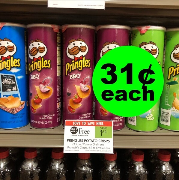 Sneak Peek Publix Deal: 😋 31¢ Pringles Chips (After Ibotta)! (3/6 or 3/7-3/10)