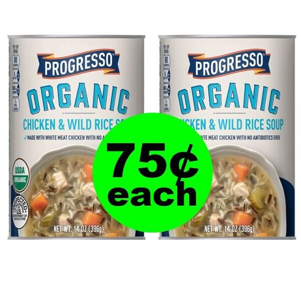 Publix Deal: 🍲 Print Now For 75¢ Progresso Organic Soup! (Ends 3/5 or 3/6)