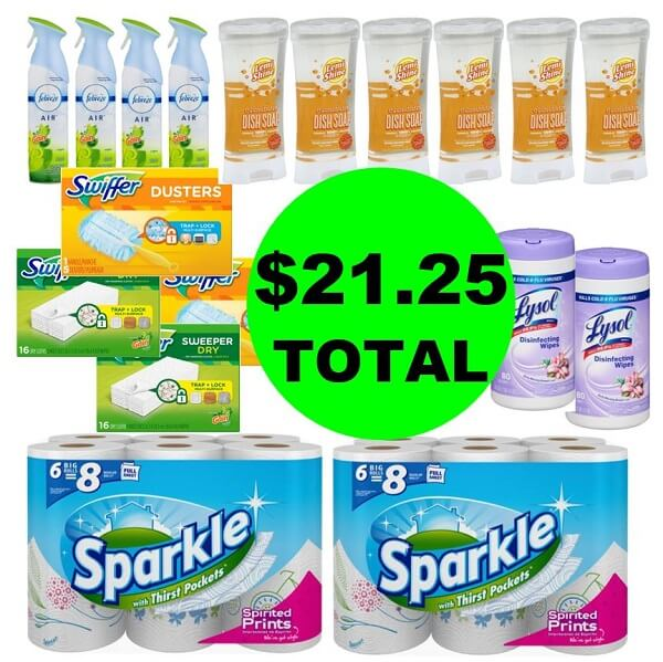 Publix Deal: 🏘️ For Just $21.25, Get (18) Household Products! (2/27 Or 2/28-3/2)