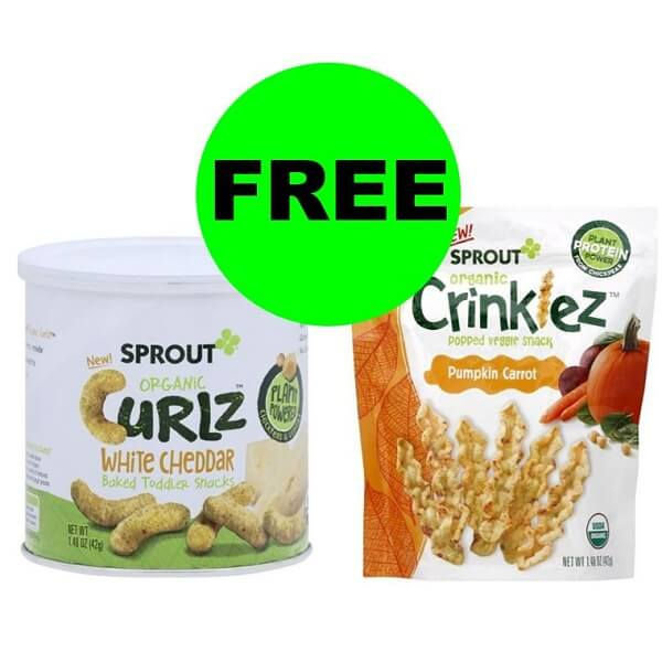Publix Deal: FREE Sprout Baby Snacks! (Ends 10/16)