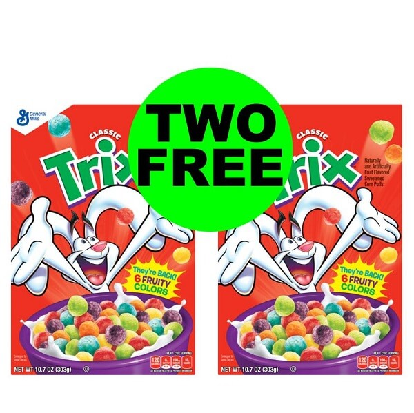CVS Deal: 🥣 General Mills Cereals As Low As (2) FREE (After Ibotta)! (3/3-3/9)