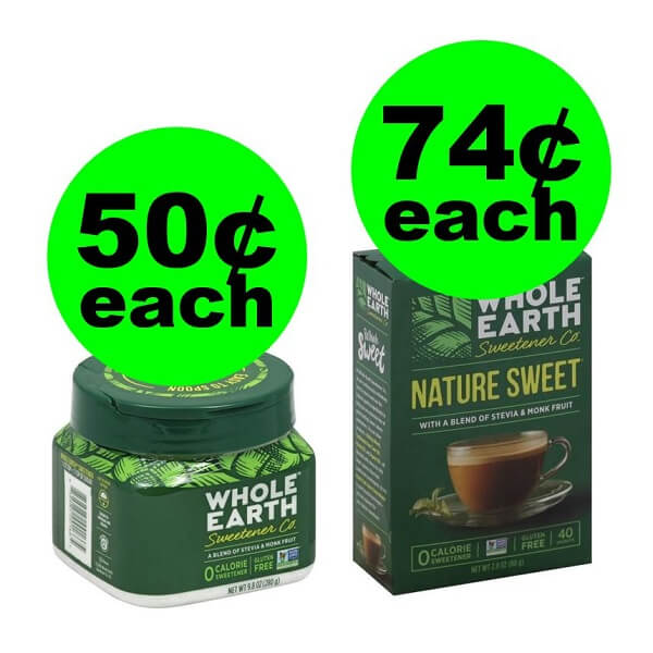 Publix Deal: 🥧 Whole Earth Sweeteners As Low As 50¢ Each (After Ibotta)!