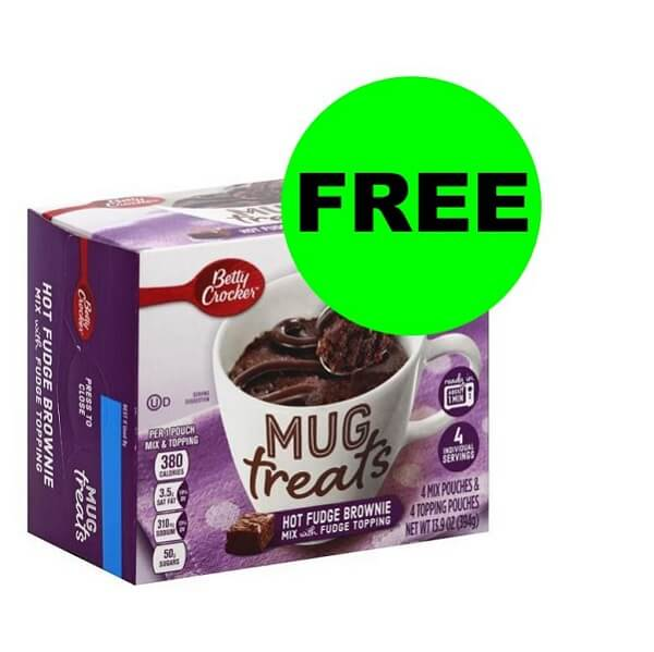 Publix Deal: ☕ FREE Betty Crocker Mug Treats (After Ibotta)! (Ends 5/23)
