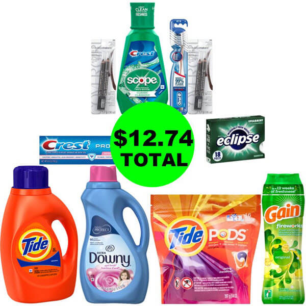 CVS Deal Idea: 😃 For $12.74 Total, Get (6) Personal Care & (4) Laundry Products! (3/17-3/23)