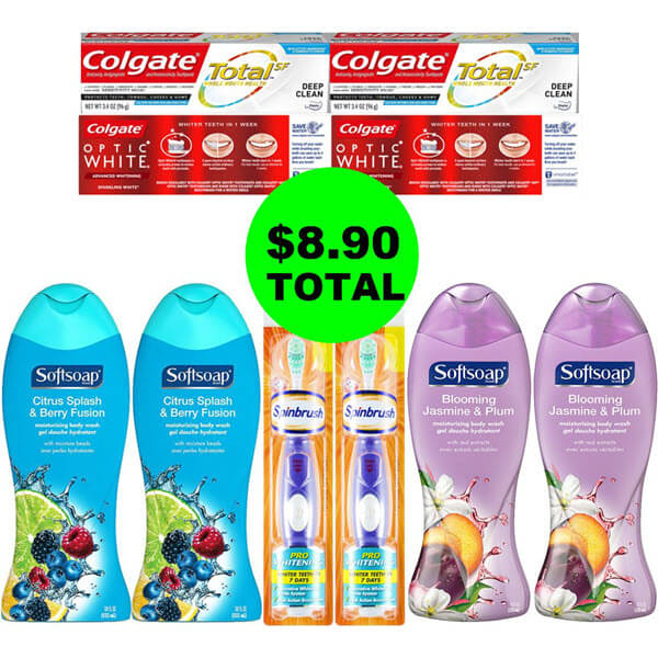 CVS Deal Idea: 😊 For $8.90 Total, Get (10) Personal Care Products! (3/24-3/30)