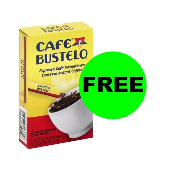Publix Deal: Print For FREE Cafe Bustelo Instant Espresso Sticks!
