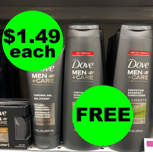 Publix Deal: 👨✈️ Dove Men Hair Care As Low As (2) FREE (After Ibotta)! (3/17-3/22)