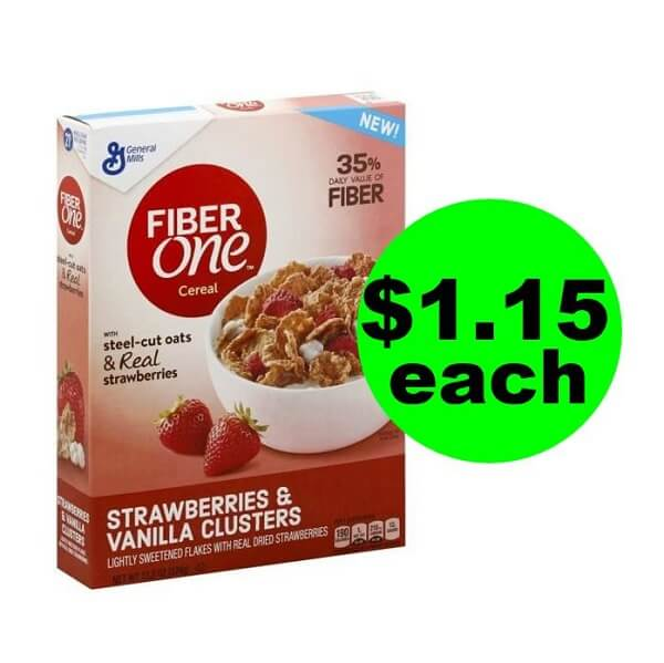 Publix Deal: 🥣 $1.15 Fiber One Strawberries & Vanilla Clusters Cereal! (5/25-6/7)