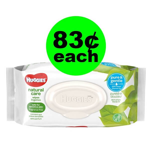 Publix Deal: 👶 83¢ Huggies Natural Care Wipes! (Ends 5/28 Or 5/29)