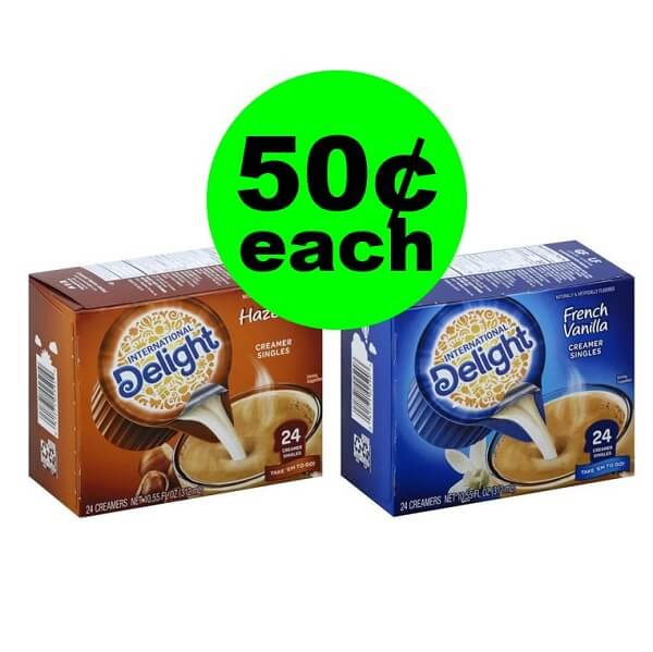 Publix Deal: ☕ 50¢ International Delight Coffee Creamer Singles! (Ends 4/2 Or 4/3)