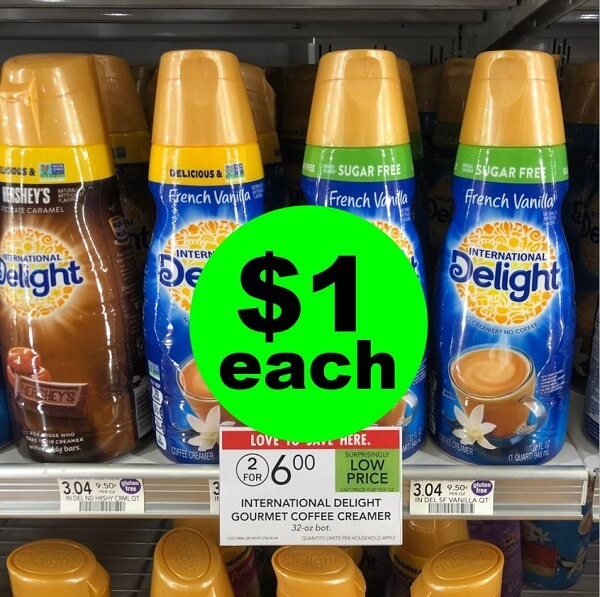 Publix Deal: $1 International Delight Coffee Creamer! (6/22-7/5)
