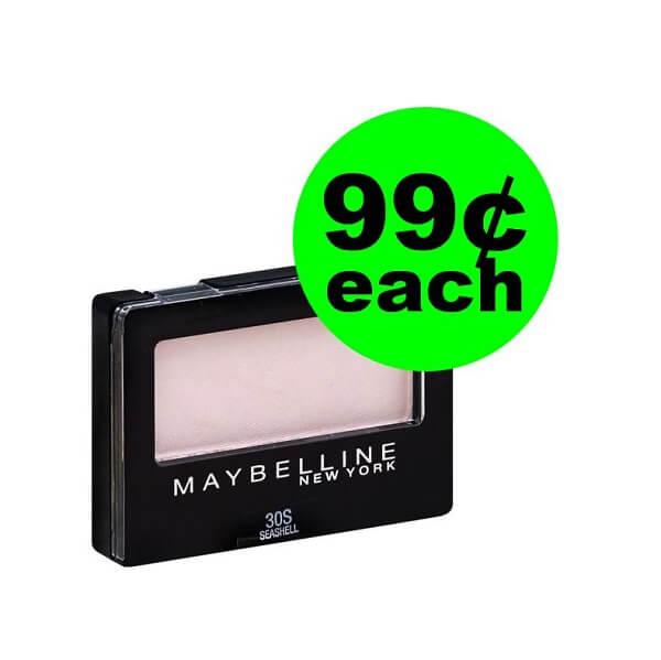 Publix Deal: 👀 99¢ Maybelline Eye Shadow! (Ends 3/22)