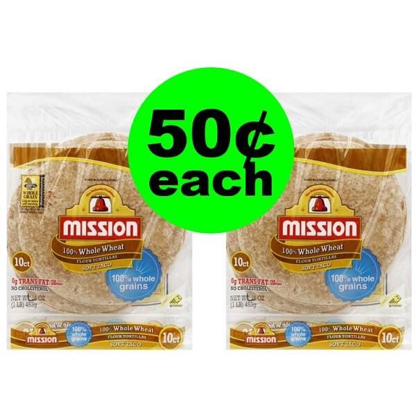 Publix Deal: 🌯 50¢ Mission Whole Wheat Tortillas! (4/3-4/9 Or 4/4-4/10)
