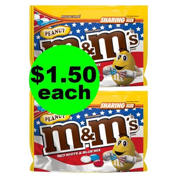 CVS Deal: $1.50 M&M's Candy Bags! (6/16-6/22)