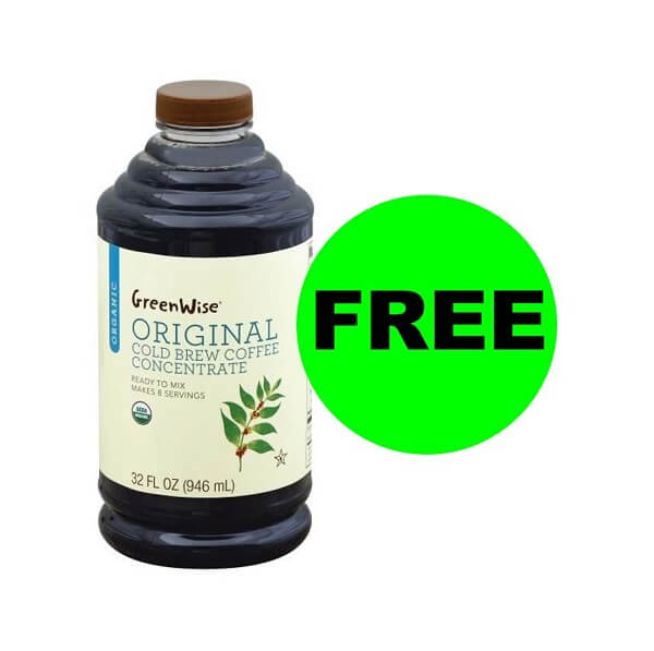 "Publix Deal: 🥤 ""Clip"" For FREE Publix GreenWise Cold Brew Concentrate (Reg. $8)! (Ends 3/27)"