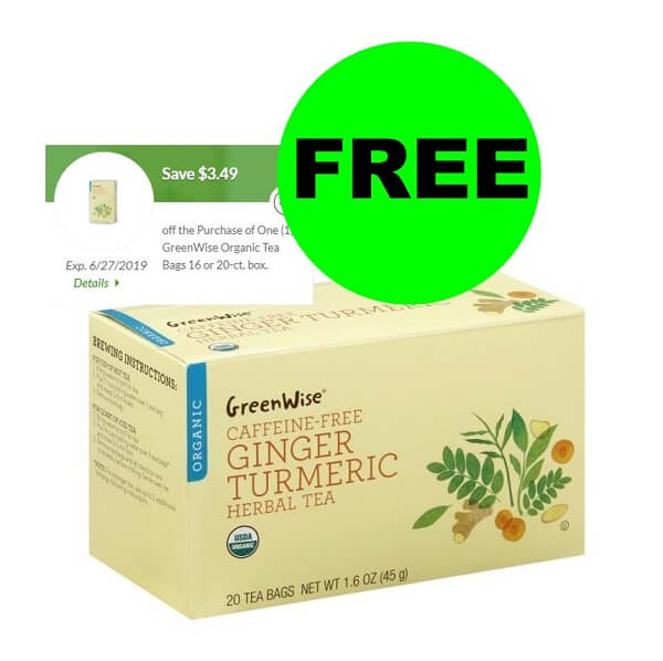 "Publix Deal: ""Clip"" For FREE Publix GreenWise Organic Tea Bags! (Ends 6/27)"