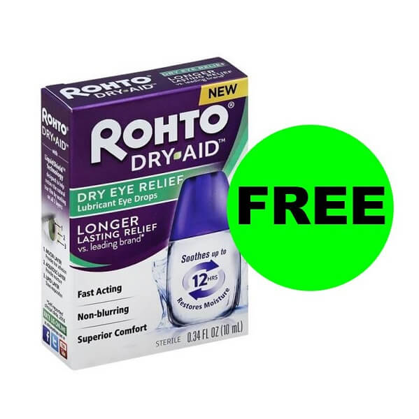 Publix Deal: 👁️ FREE Rohto Dry Eye Relief (After Ibotta; Reg. $12)!