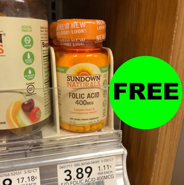Publix Deal: Sundown Naturals Vitamins As Low As (2) FREE + $3.22 Money Maker! (12/14-12/27)