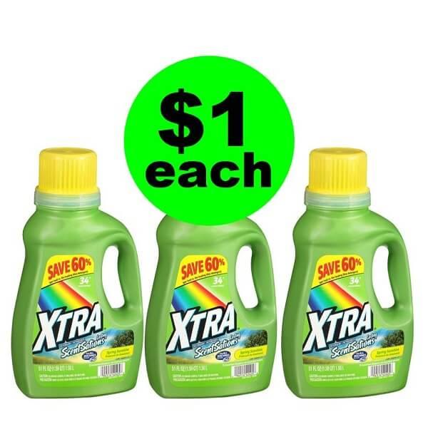CVS Deal: 🧦 $1 Xtra Detergent (No Coupons Needed)! (3/10-3/16)