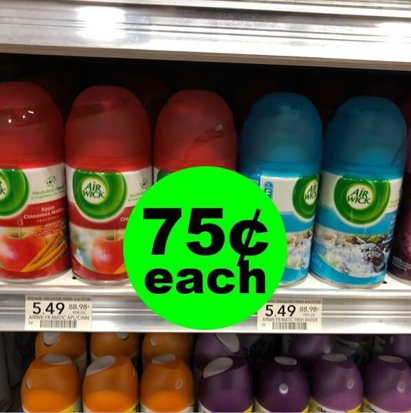 Sneak Peek Publix Deal: 🌹 75¢ Air Wick Freshmatic Ultra Refills! (5/15-5/21-5/16-5/22)