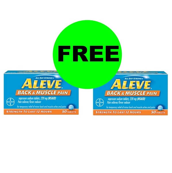 Sneak Peek CVS Deal: 💪 (2) FREE + $1.26 MM On Aleve Back & Muscle Pain Relief! (4/14-4/20)