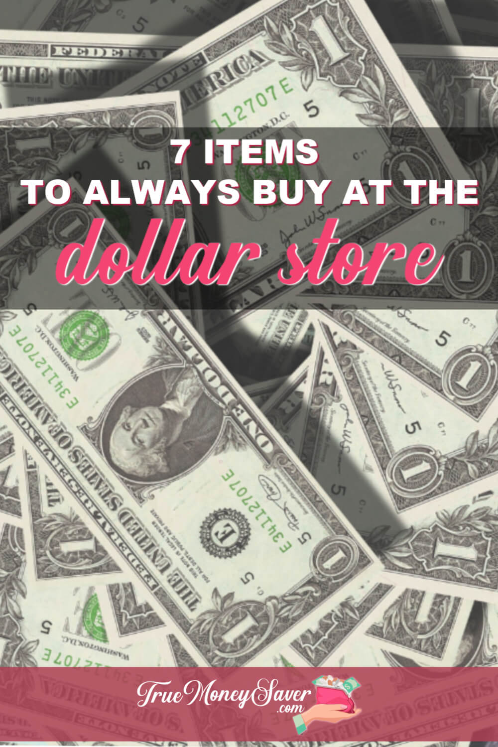 There are items that are WAY CHEAPER to buy at the Dollar Store. Do you know what they are? Check out these deals to get at your nearest dollar store! #dollarstore #savings #dollartree #truecouponing #savingmoney