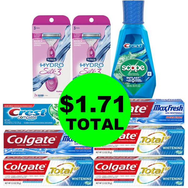 CVS Deal Idea: ? For $1.71 Total, Get (11) Personal Care Products! (4/21-4/27)