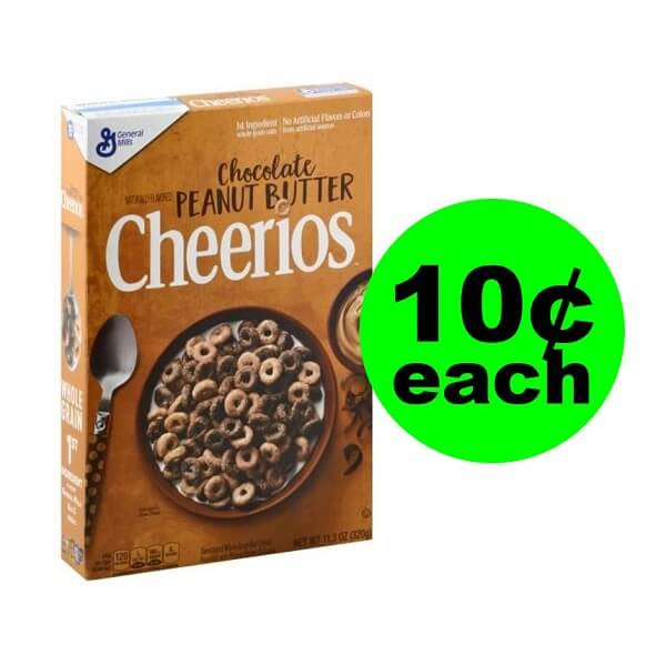 Publix Deal: 🥣 10¢ Cheerios Chocolate Peanut Butter Cereal (After Ibotta)! (5/22-5/28 Or 5/23-5/29)
