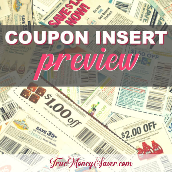 5/26/19 Coupon Insert Preview: (1) P&G