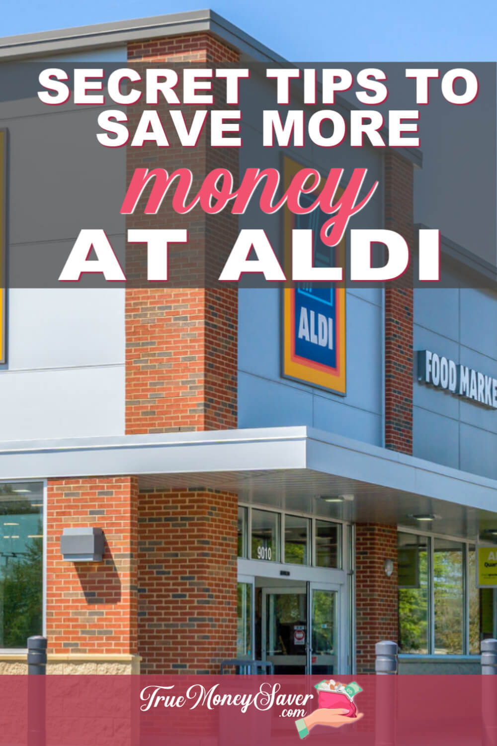 Groceries can be so expensive. Don\'t miss out on these SECRET ways that you can save even more at Aldi! #truecouponing #aldi #groceries #groceryshopping #savings