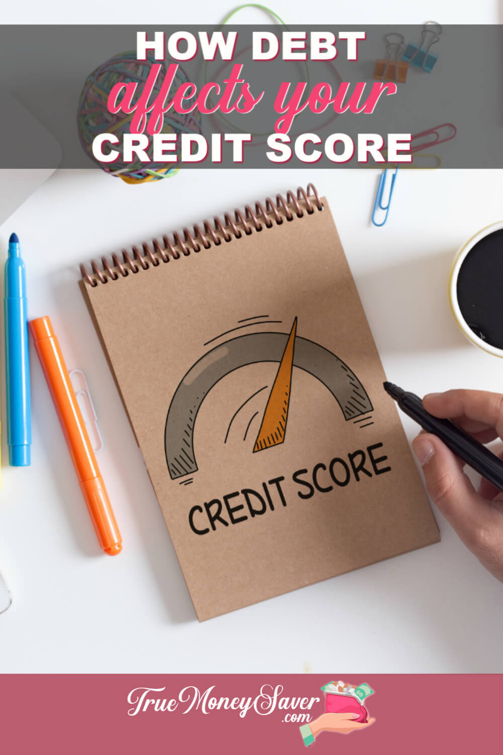 How Debt Affects Your Credit Score