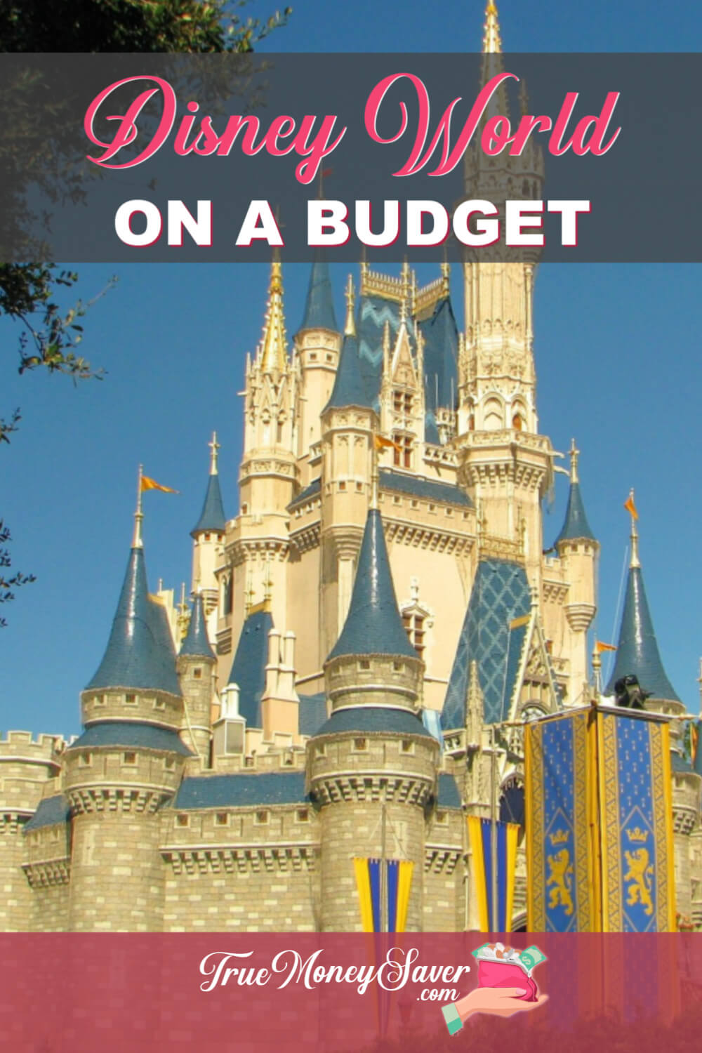 A Disney World vacation doesn't have to cost you your entire life savings. Learn how to keep all the magic while not breaking the bank! #truemoneysaver #savingmoney #disneyvacation #familyfun #florida #floridavacation #vacations #familyvacations