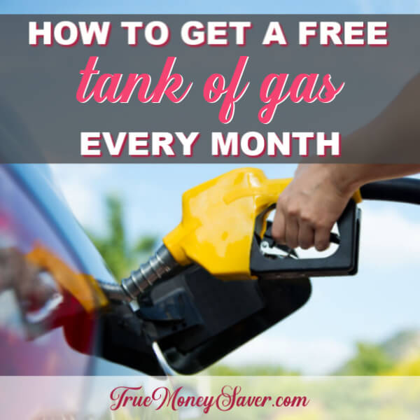 Cheap Gas: How To Get A FREE Tank Of Gas Every Month!