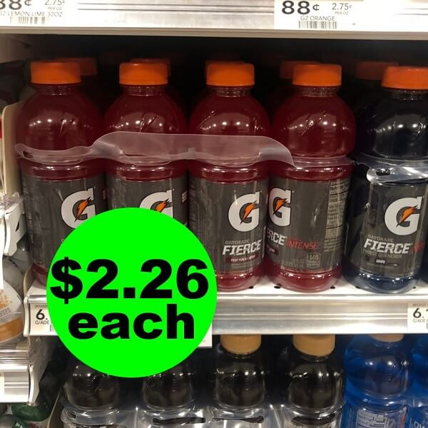 Publix Deal: 🏃‍♀️ $2.26 Gatorade 8 Packs! (Ends 5/21 Or 5/22)